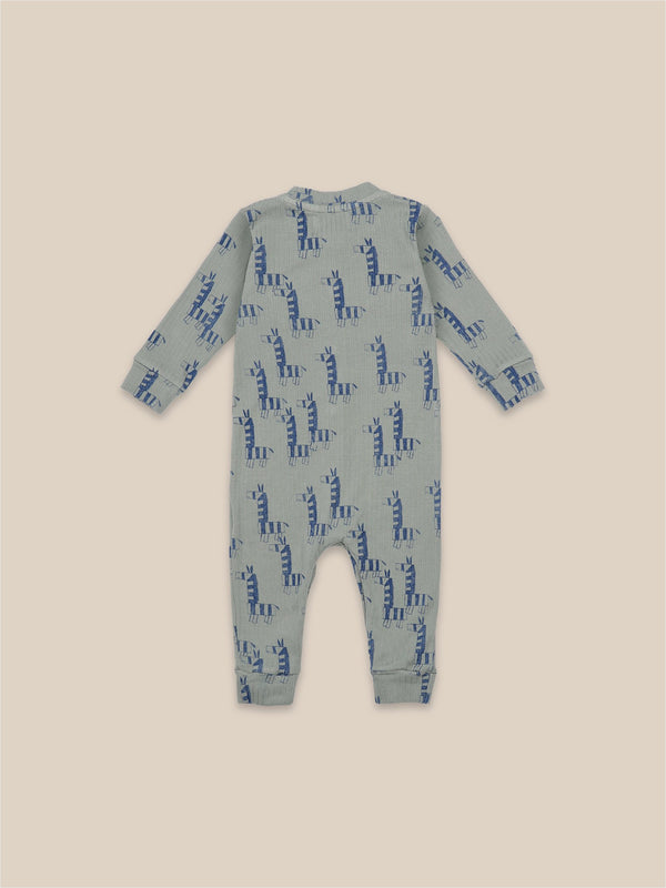 Bobo Choses Romper Zebras All Over Overall