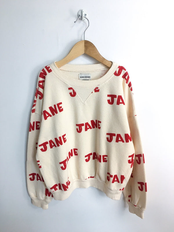"Bobo Choses Sweaters 8-9y / New with Tag Re-Cycle ""Jane"" Sweater"