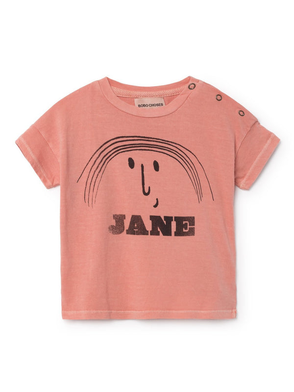 Bobo Choses Tops + Bodysuits 6-12m Little Jane Short Sleeve T-Shirt