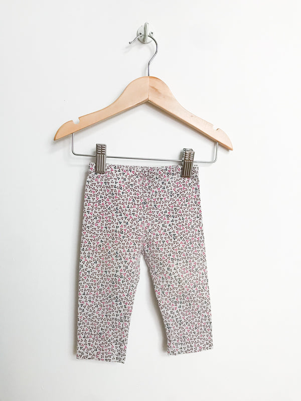 Bout'Chou Bottoms 6-12m / Gently Used Re-Cycle Triangle Pattern Leggings