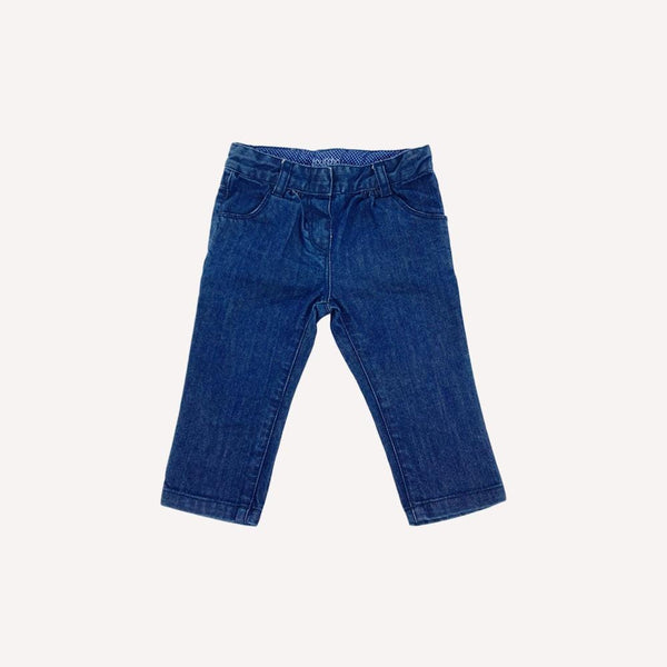 Bout'Chou Pants 6m / Preloved Re-Cycle Solid Blue Pants