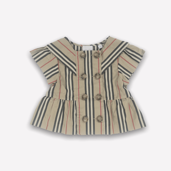 Burberry Blouse 6y / New Re-Cycle Classic Burberry Blouse