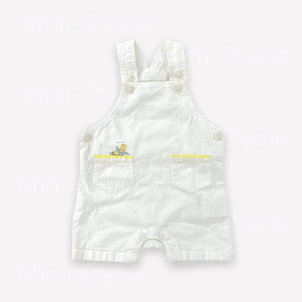 Cadet Rousselle Overalls 3m / Like New Re-Cycle Graphic White Overalls