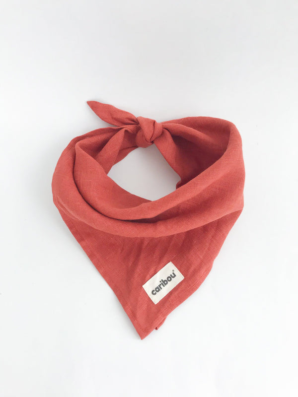 Caribou Bandana OS / Like New Re-Cycle Red Bandana