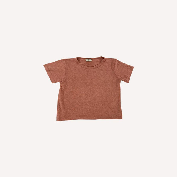 Caribou T-Shirt 5-6y / Like New Re-Cycle Solid Pink T-Shirt