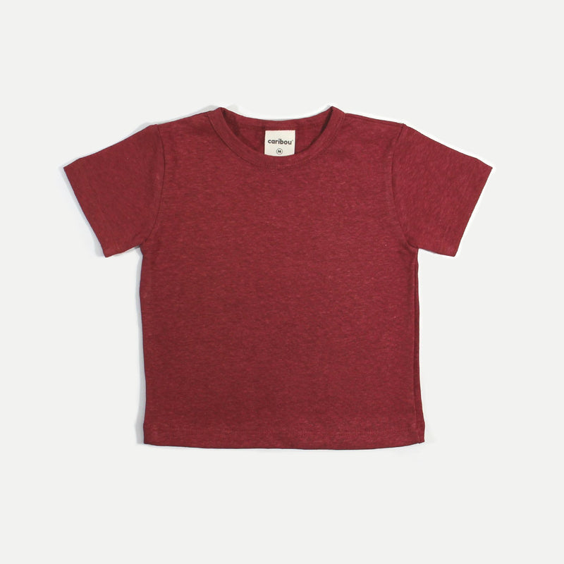 Caribou T-Shirt Red / S T-Shirt - Red