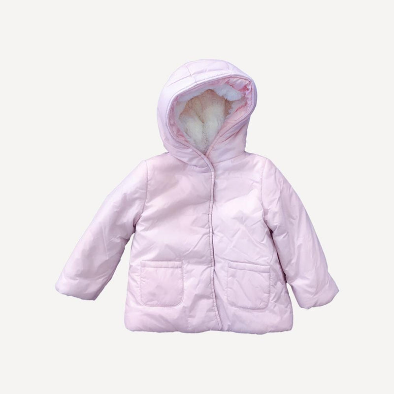 Carrement Beau Mid Season Jacket 2T / Preloved Re-Cycle Solid Pink Mid Season Jacket