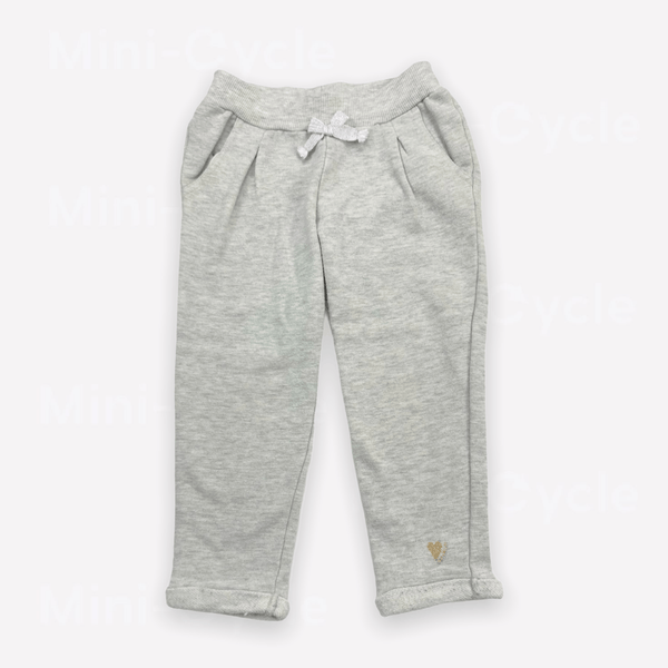 Catimini Sweatpants 3y / Preloved Re-Cycle Marled Grey Sweatpants