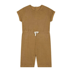 Daily Brat Romper Molly Towel Suit - Sandstone