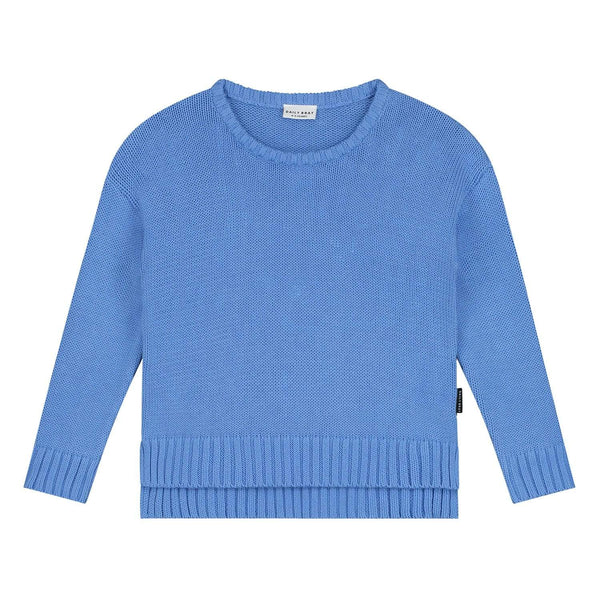 Daily Brat Sweater Austin Knitted Sweater - Serenity Blue