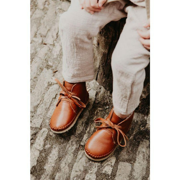 Donsje Shoes Ollie Lining - Cognac Leather