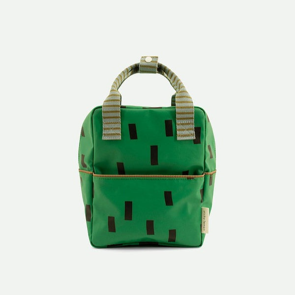 Small Backpack Sprinkles - Special Edition - Apple Green + Steel Blue + Brassy Green