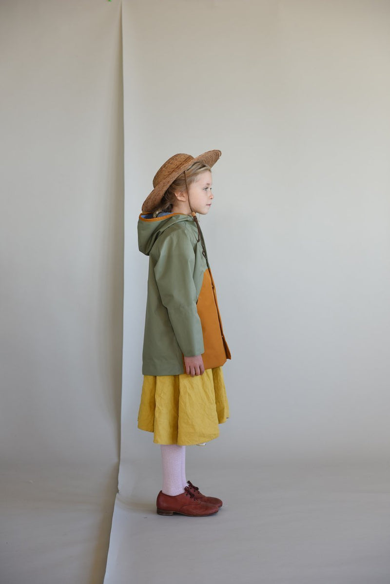 Faire Child Rain Coat Anorak Rain Coat - Balsam