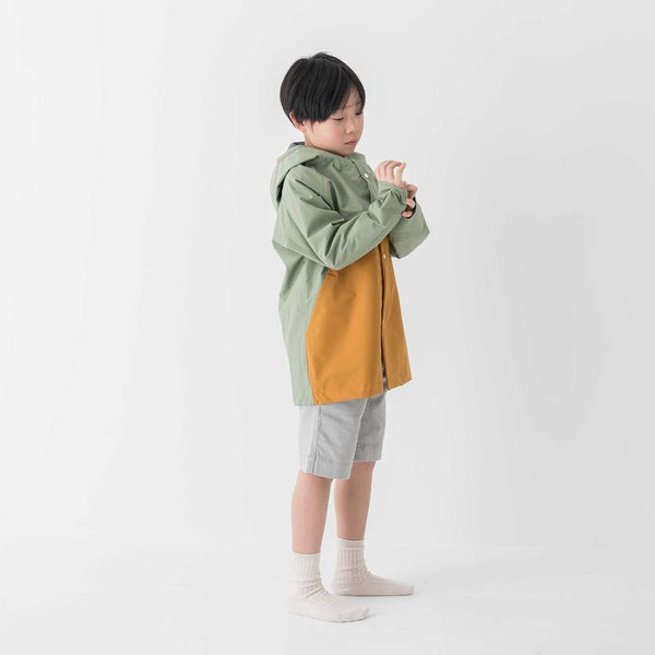 Faire Child Raincoat Anorak Raincoat - Balsam/Acorn