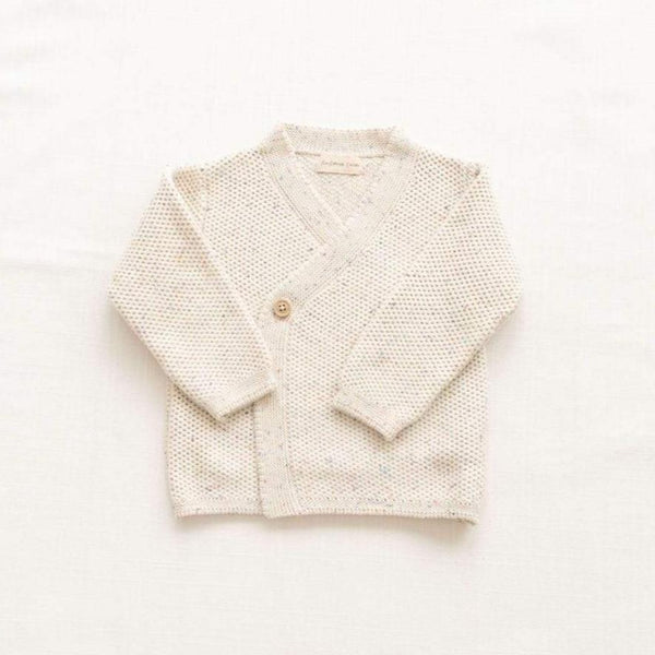 Fin & Vince Cardigan Knitted Wrap Cardigan - Confetti