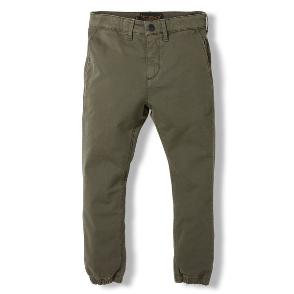 Finger in the Nose Bottoms 6-7y Skater Army Green Pants
