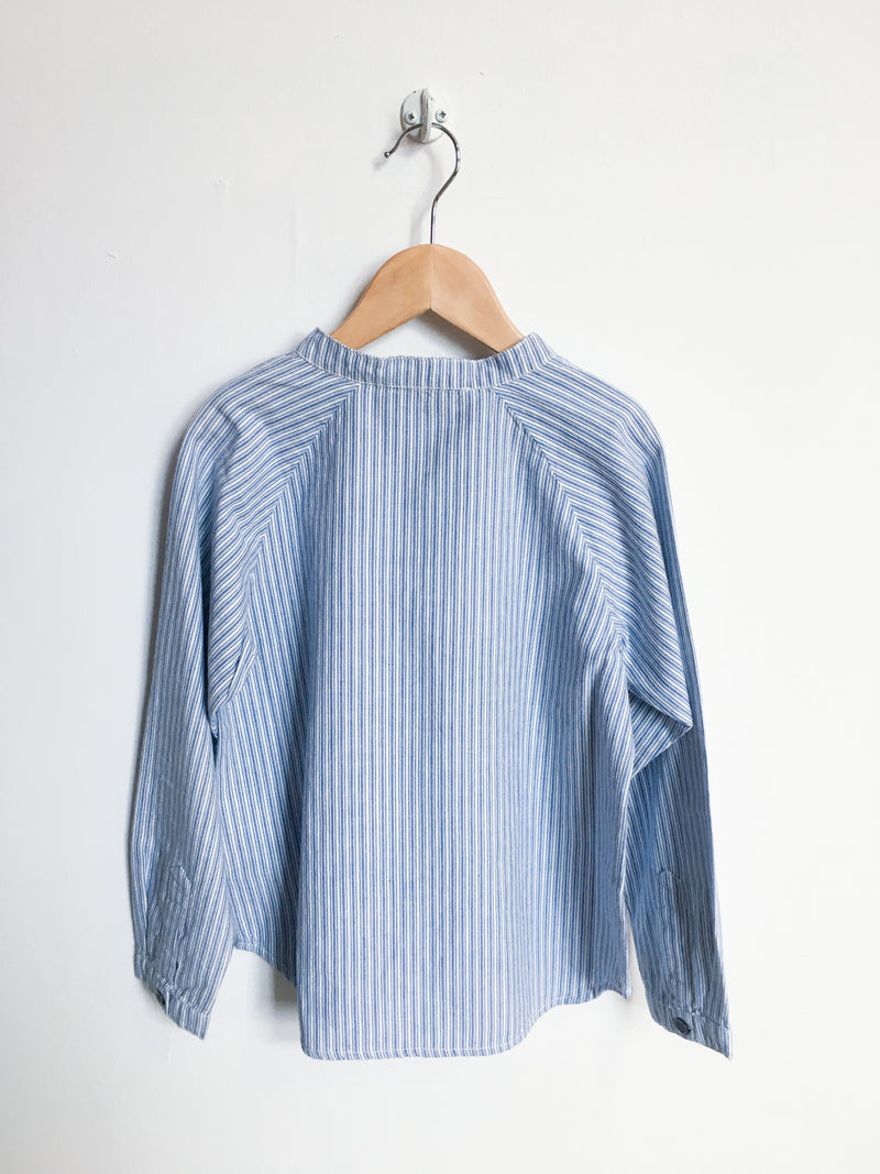Finger in the Nose Shirts 6-7y / New with Tag Re-Cycle Blue Striped Shirt