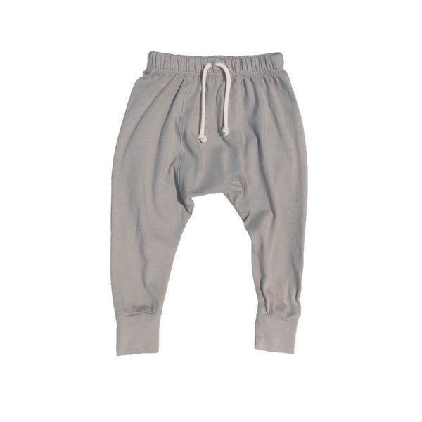 Go Gently Nation Bottoms 6-12m Jersey Harem Eucalyptus Pants