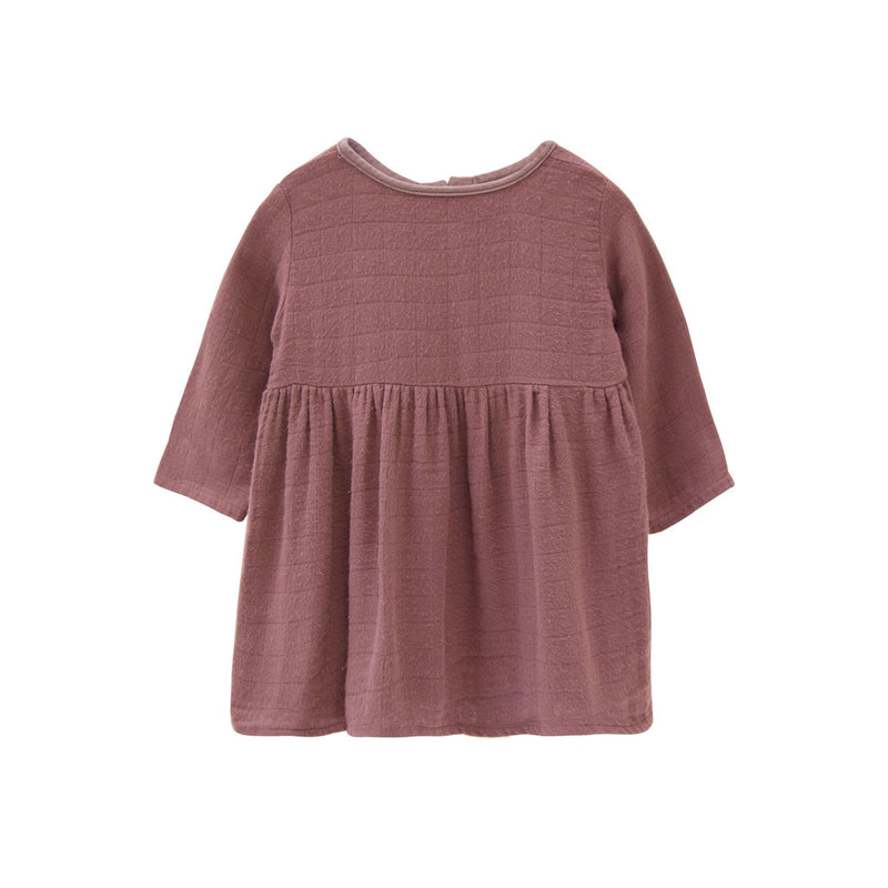 Go Gently Nation Dress Gauze Prairie Dress - Berry