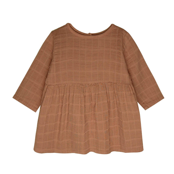 Go Gently Nation Dress Gauze Prairie Dress - Clay