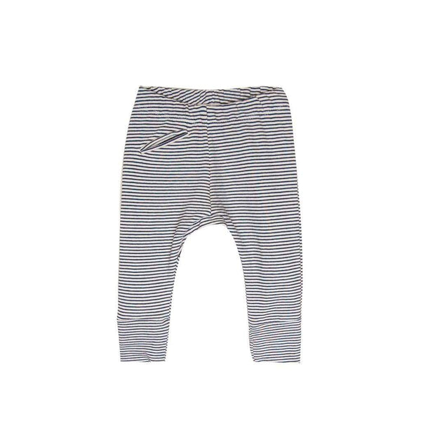 Go Gently Nation Pants Jogger - Navy/Natural Stripe
