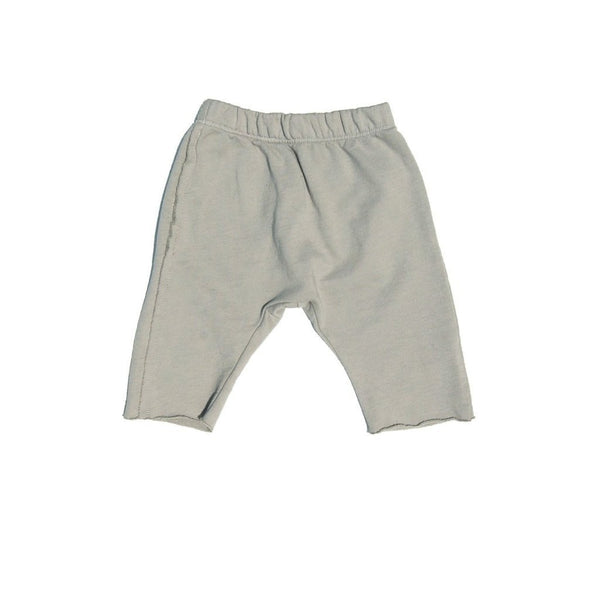 Go Gently Nation Shorts 12-18m Eucalyptus Raw Hem Track Short