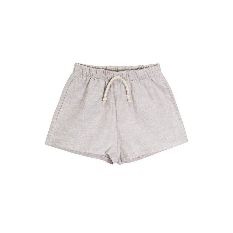 Go Gently Nation Shorts Lawn Short - Dove Gray