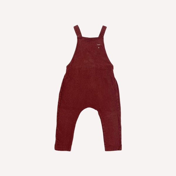 Gray Label Romper 18-24m / Preloved Re-Cycle Solid Maroon Romper