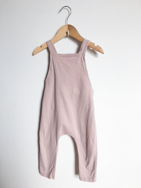 Gray Label Rompers + Overalls 18-24m / Gently Used Re-Cycle Light Pink Overalls