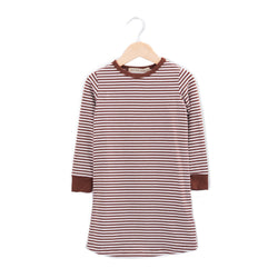 Haven Kids Dress Lounge Dress - Redwood Stripes