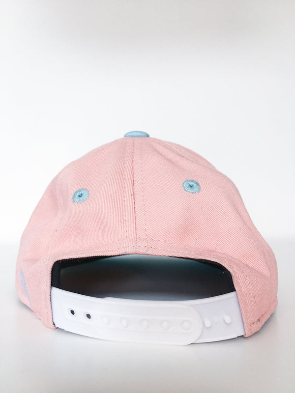Headster Kids Accessories 48cm / Gently Used Re-Cycle Peach and Blue Cap