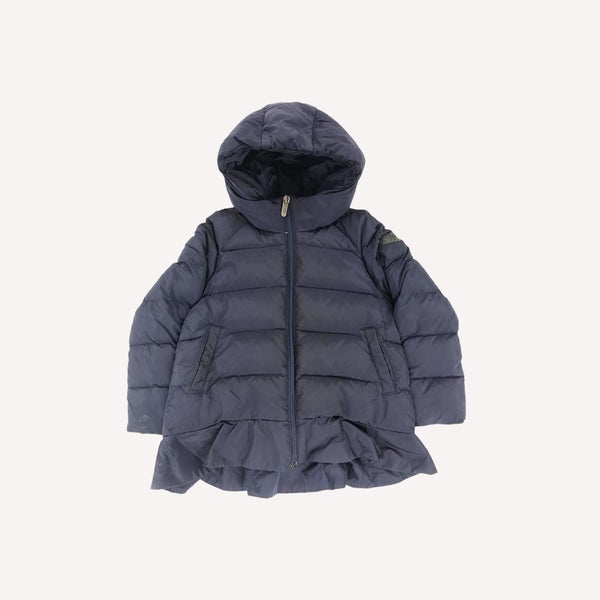 il gufo Winter Coat 4y / Preloved Re-Cycle Solid Blue Winter Coat