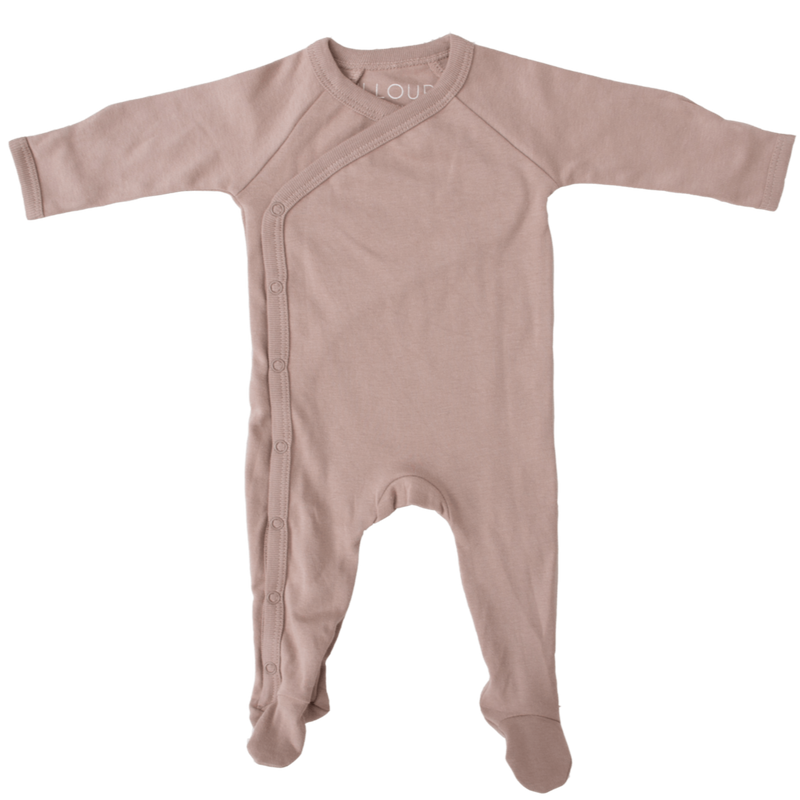 Illoura Romper Footed Romper - Hazelnut