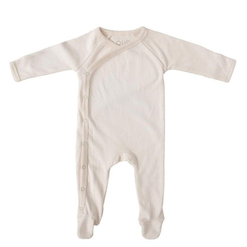 Illoura Romper Footed Romper - Natural