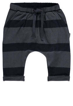 Imps&Elfs Bottoms 0-3m Dreamy Blue Stripe Sweatpants