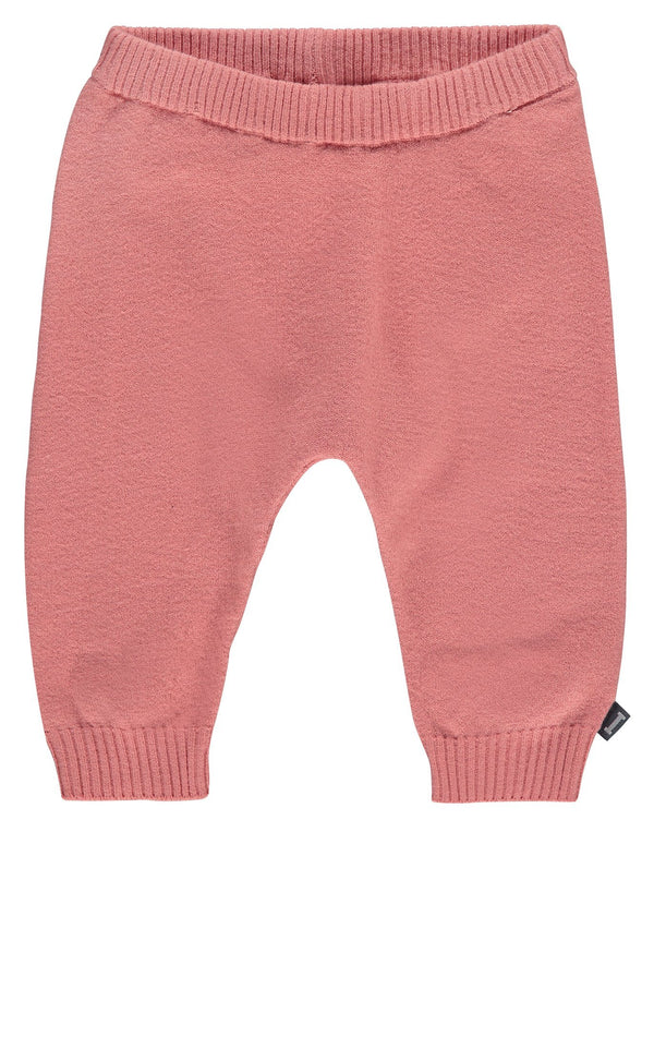 Imps&Elfs Bottoms 0-3m Dusty Pink Knitted Trousers