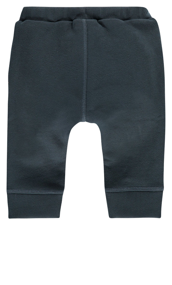 Imps&Elfs Bottoms 3-6m Grey Blue Sweatpants