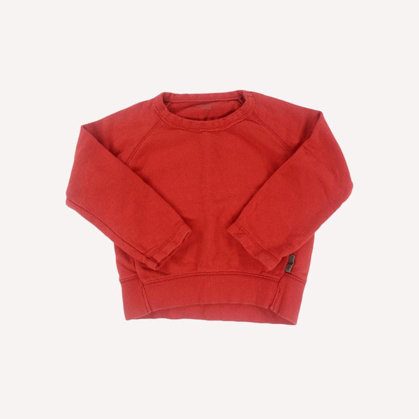 Imps&Elfs Sweater 3T / Preloved Re-Cycle Solid Red Sweater