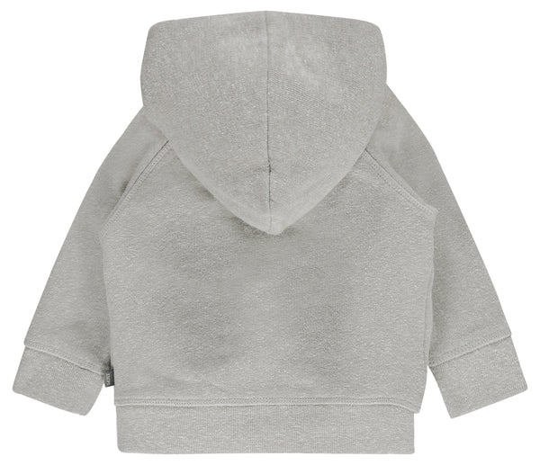 Imps&Elfs Sweaters 3-6m Very Soft Grey Hooded Cardigan