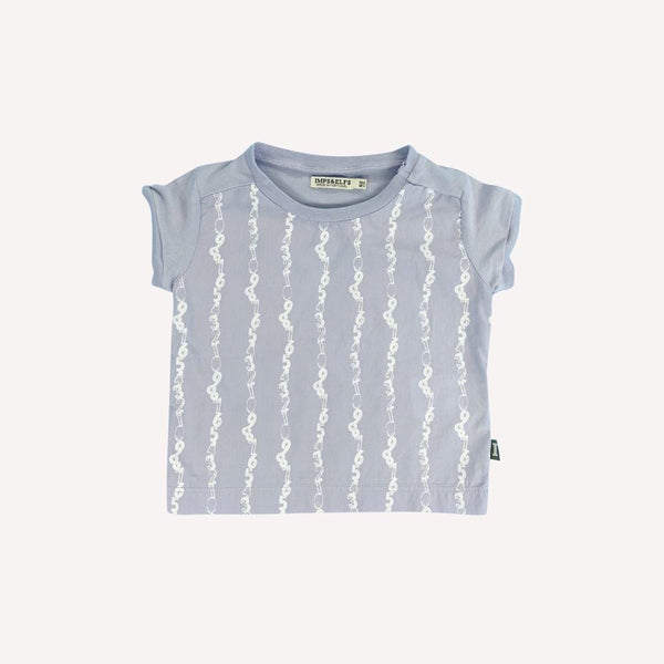 Imps&Elfs T-Shirt 3-6m / Like New Re-Cycle Patterned Purple T-Shirt