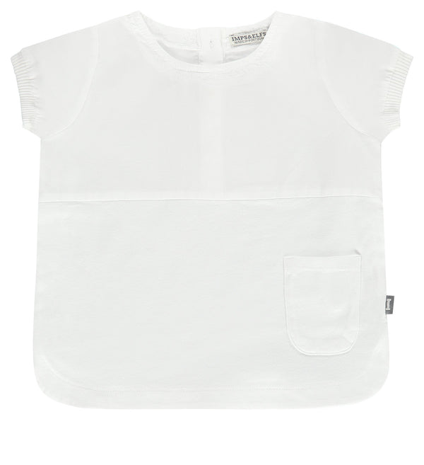 Imps&Elfs Tops + Bodysuits 9-12m White Tunic