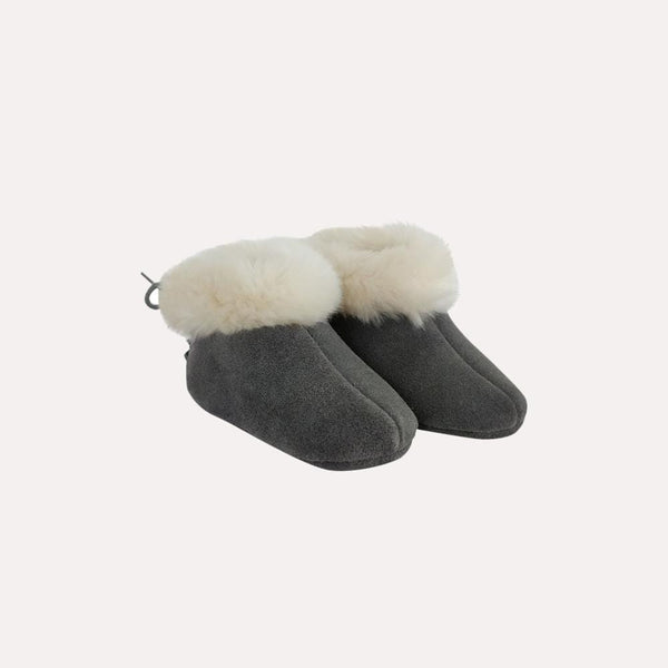 Jacadi Booties 12-24m / New Re-Cycle Grey Solid Booties