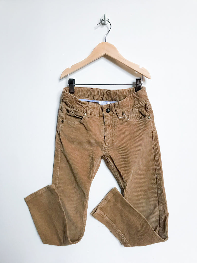 Jacadi Bottoms 8y / Gently Used Re-Cycle Caramel Corduroy Pants
