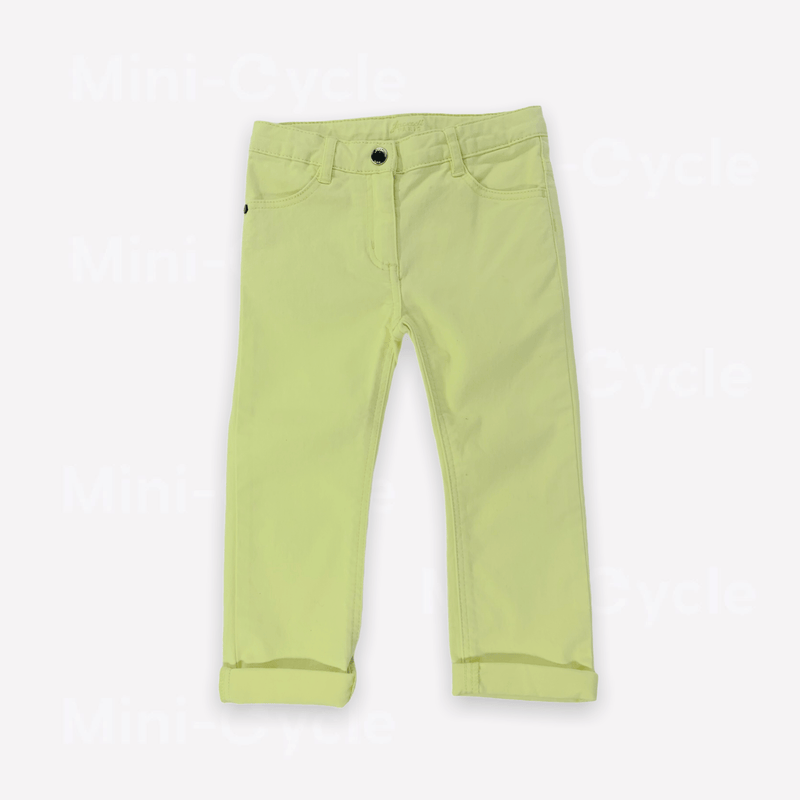 Jacadi Pants 36m / New Re-Cycle Solid Yellow Pants