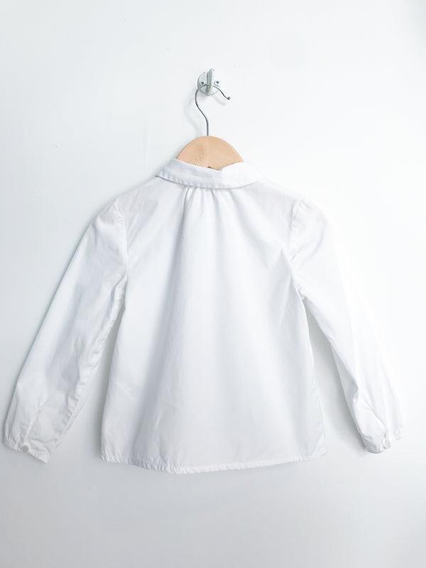 Jacadi Shirts 3y / Gently Used Re-Cycle White Blouse