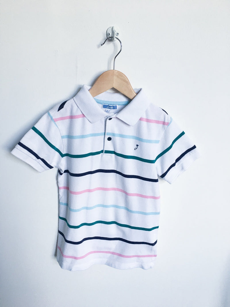 Jacadi Shirts 8y / Gently Used Re-Cycle Striped Polo
