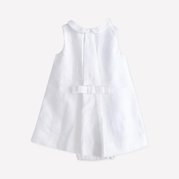 Jacadi Top + Bloomers 3m / Preloved Re-Cycle Solid White Top + Bloomers