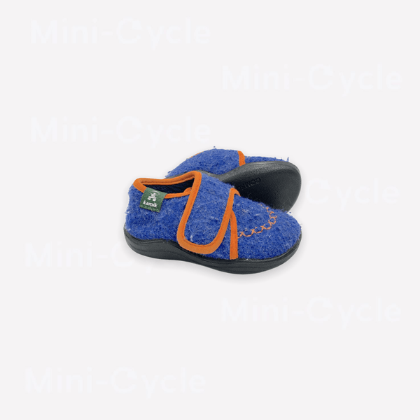 Kamik Shoes US 6 / Preloved Re-Cycle Blue and Orange Cozy Lodge Slippers