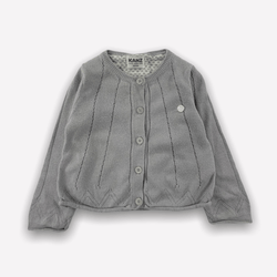 Kanz Cardigan 6m / Preloved Re-Cycle Solid Grey Cardigan