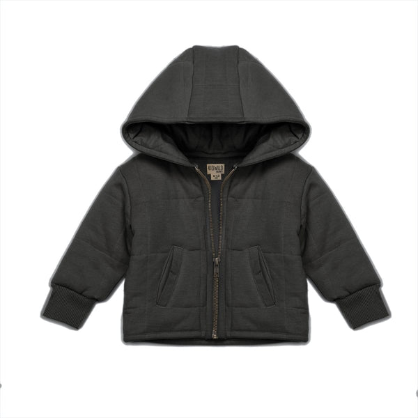 KidWild Jacket Organic Quilted Jacket - Storm